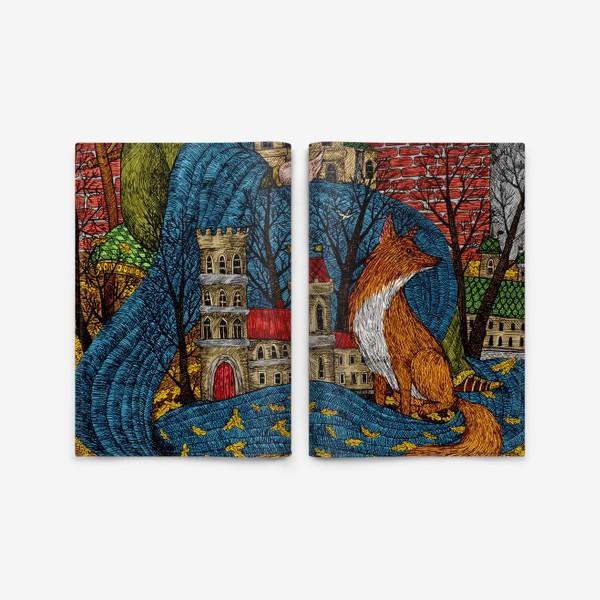 Обложка для паспорта «Сказочная история»