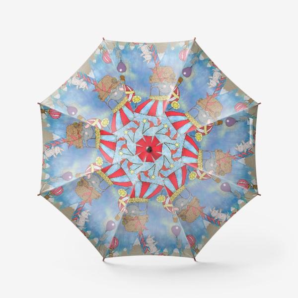 Зонт «Путешествие на воздушном шаре»