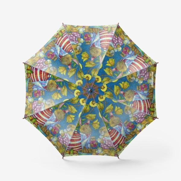 Зонт «Весеннее чаепитие»