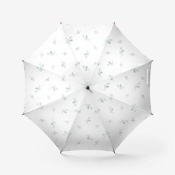 Зонт «Орнамент из листьев»