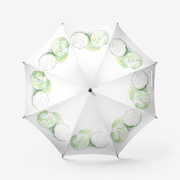 Зонт «Капуста. Неожиданно хрустящий.»