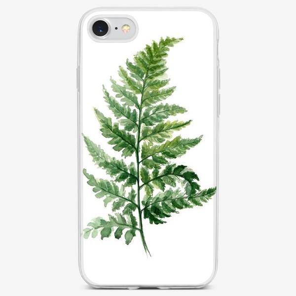 Чехол iPhone «Папоротник»