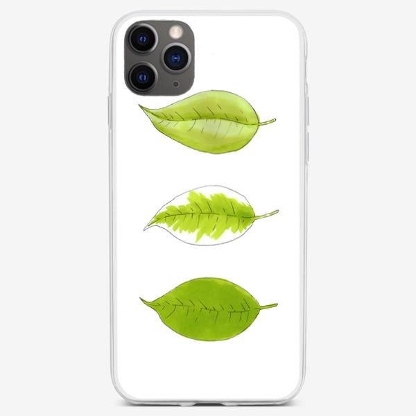 Чехол iPhone «Три Листочка»