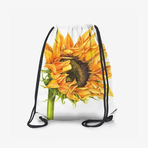 Рюкзак «Цветок подсолнуха»