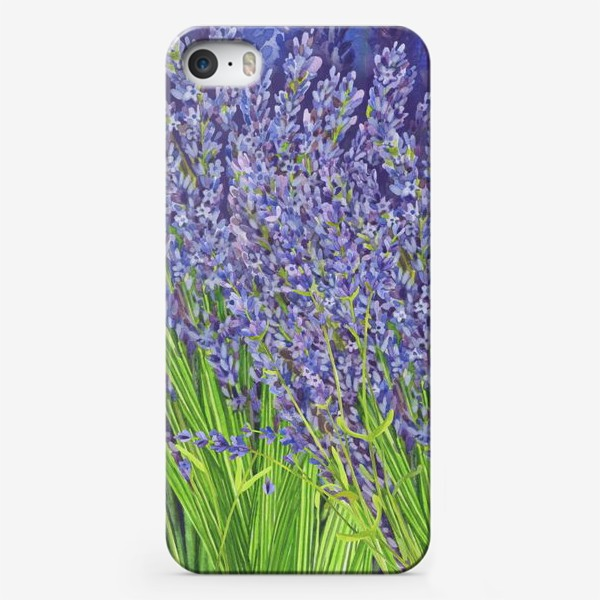Чехол iPhone «Лаванда»