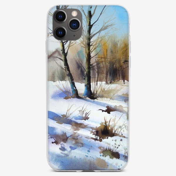 Чехол iPhone «Пейзаж Постер»