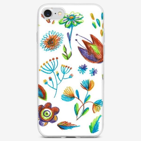 Чехол iPhone «Цветник»