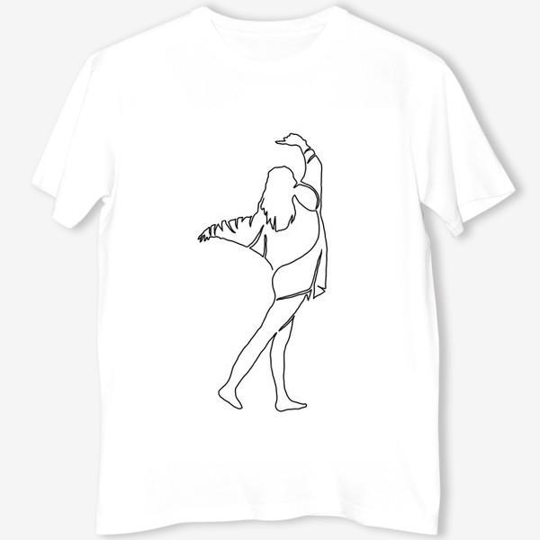 Футболка «Девушка в танце»