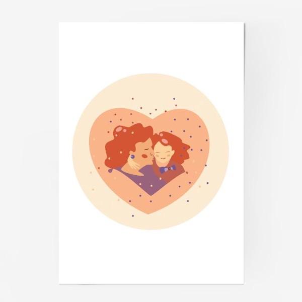 Постер «Поцелуй»