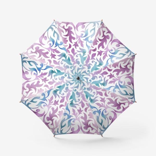 Зонт «Акварельное сердце.»