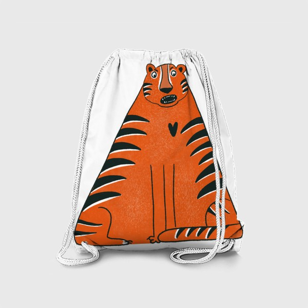 Рюкзак «Треугольный тигр»