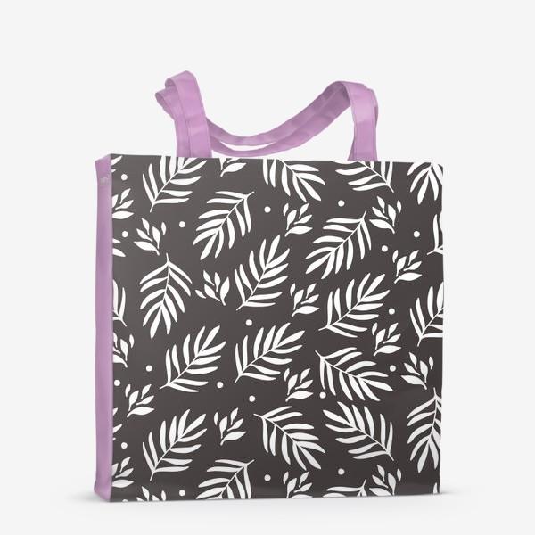 Сумка-шоппер «Scandinavian floral pattern»