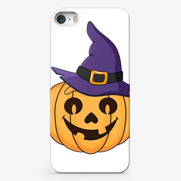 Чехол iPhone «тыква в шляпе ведьмы »