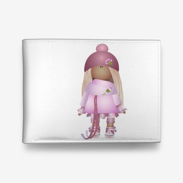 Кошелек «Девочка Тильда вся в розовом»