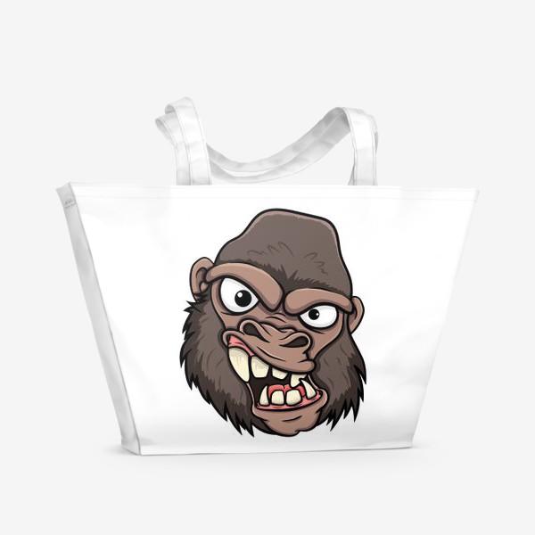 Пляжная сумка «горилла»