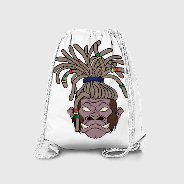 Рюкзак «горилла с дредами»