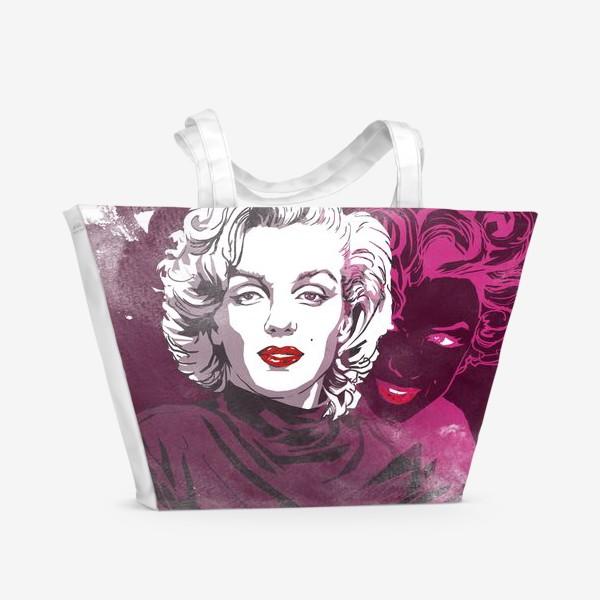 Пляжная сумка «Мэрилин Монро»