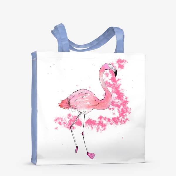 Сумка-шоппер «Розовый фламинго»
