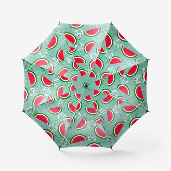 Зонт «Арбузный  патттерн»