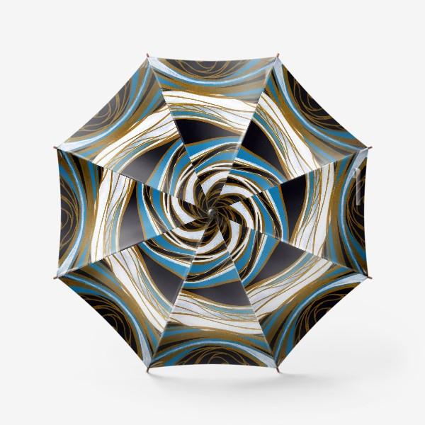 Зонт «Золотые линии»
