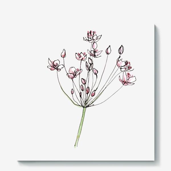 Холст «Цветочное лето»