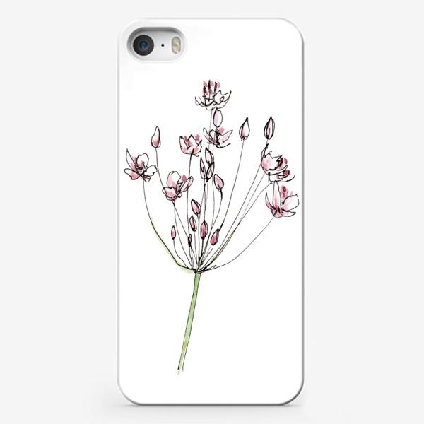 Чехол iPhone «Цветочное лето»