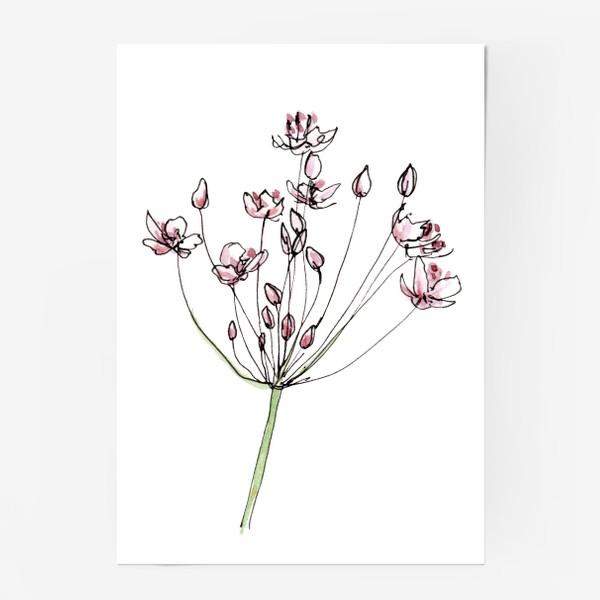 Постер «Цветочное лето»