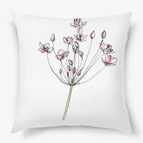 Подушка «Цветочное лето»