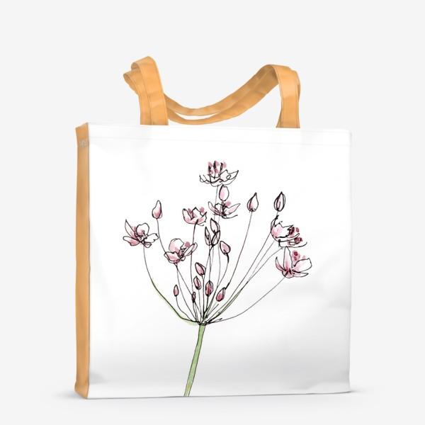 Сумка-шоппер «Цветочное лето»
