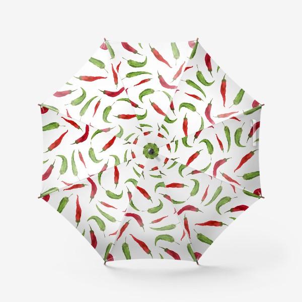 Зонт «Красные и зеленые  перцы»