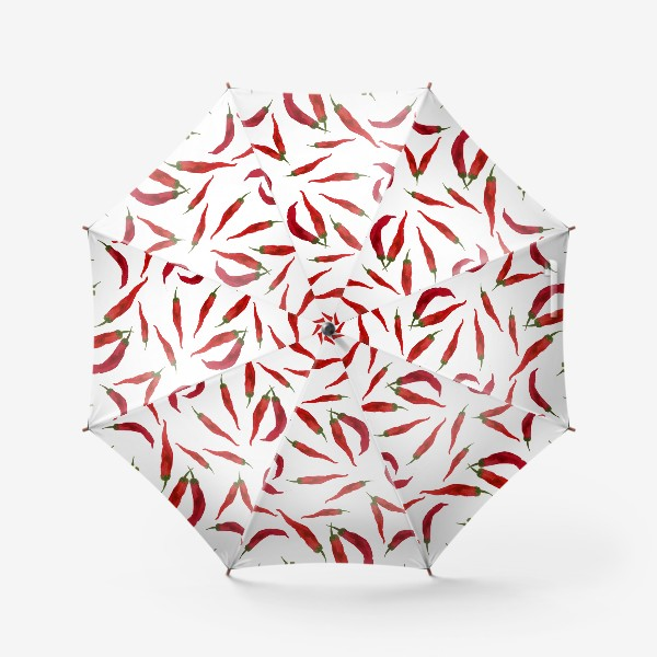 Зонт «Красный  перец»