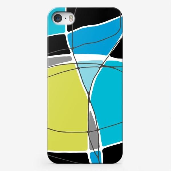 Чехол iPhone «Цветная геометрия»