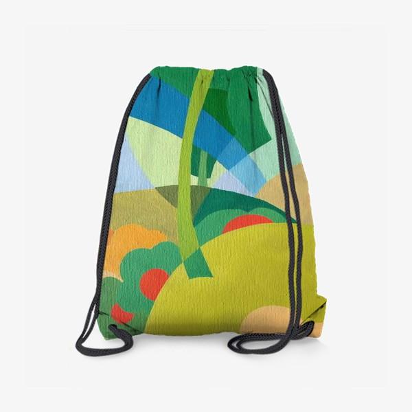 Рюкзак «Лето в декоративном стиле. »