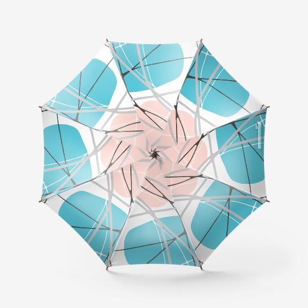 Зонт «Цветная абстракция »