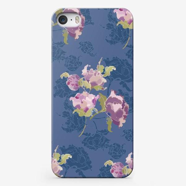 Чехол iPhone «Пионы винтажные»