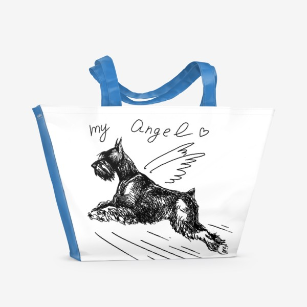 Пляжная сумка «Мой ангел»