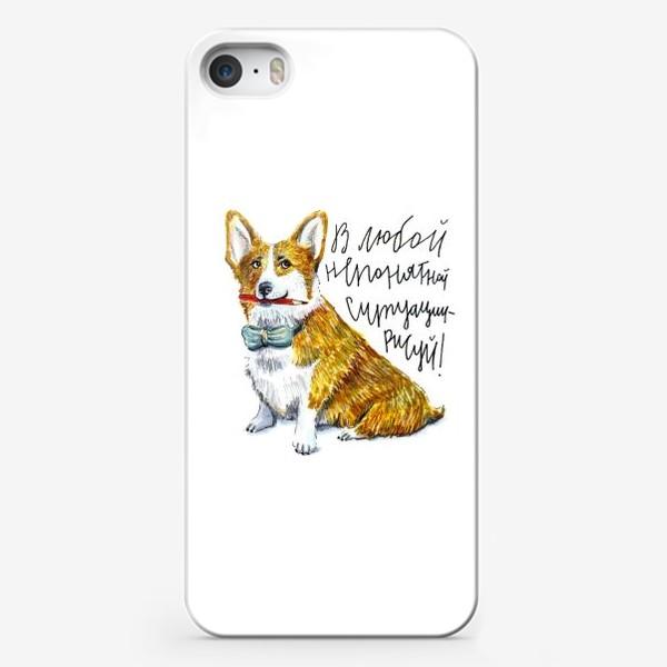 Чехол iPhone «КОРГИ»