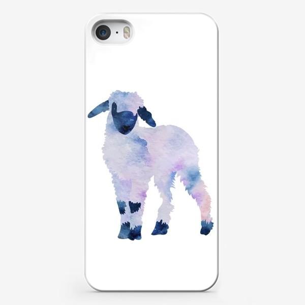 Чехол iPhone «Космический барашек»