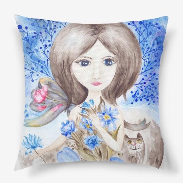 Подушка «Цветочная фея»