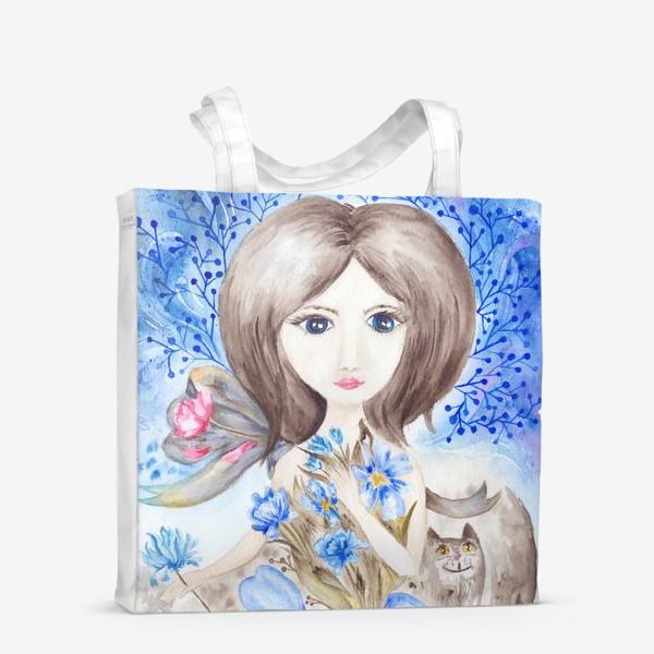 Сумка-шоппер «Цветочная фея»