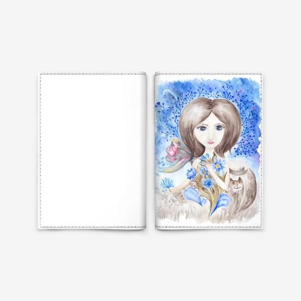 Обложка для паспорта «Цветочная фея»