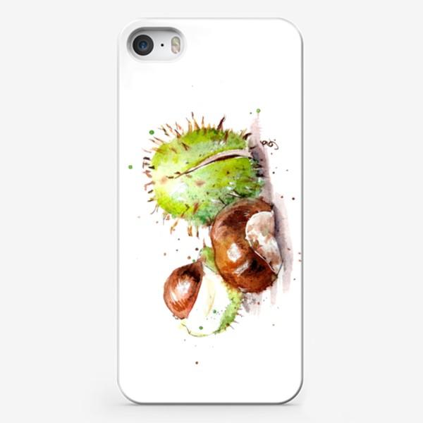 Чехол iPhone «каштан»