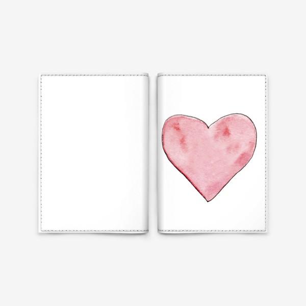 Обложка для паспорта «Сердце»