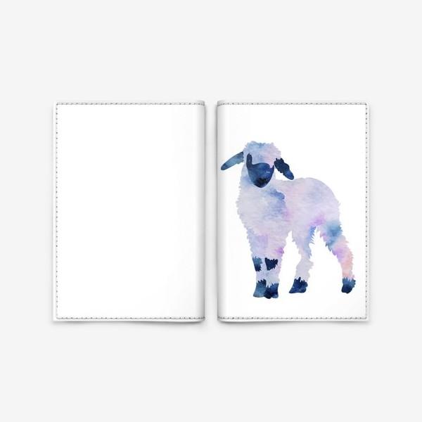 Обложка для паспорта «Космический барашек»