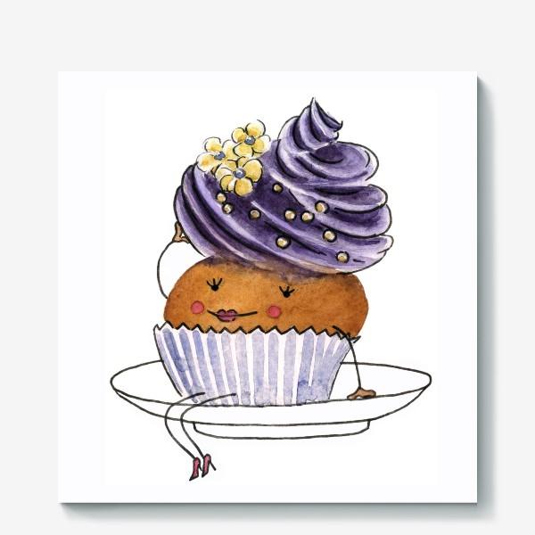Холст «Пирожное»