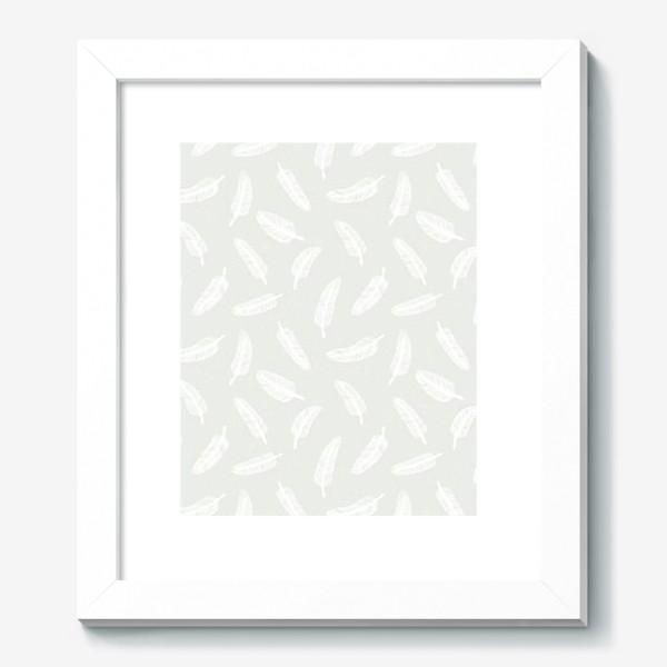 Картина «Перья и точки»