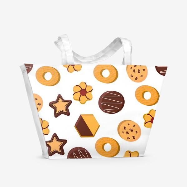 Пляжная сумка «Печенье»