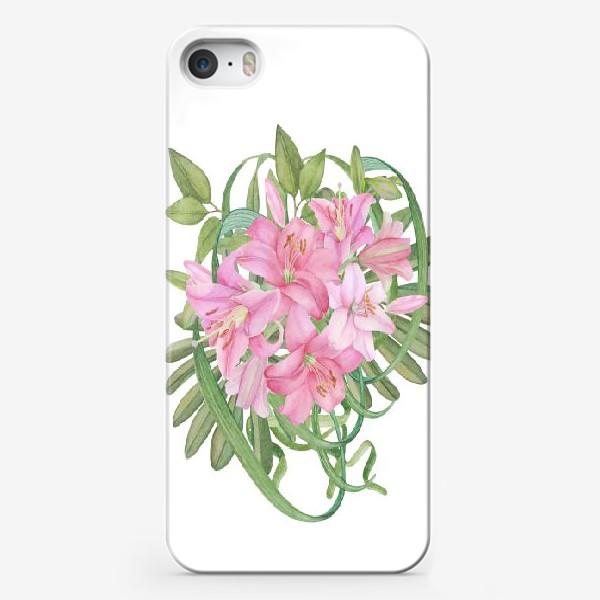 Чехол iPhone «Букет лилий»