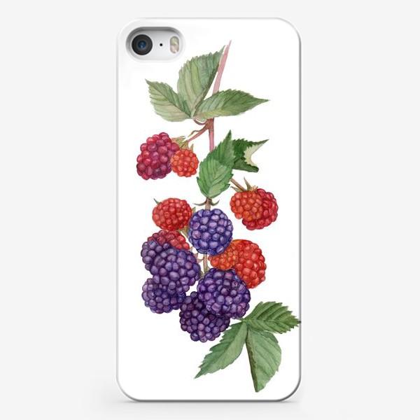 Чехол iPhone «Ежевика»