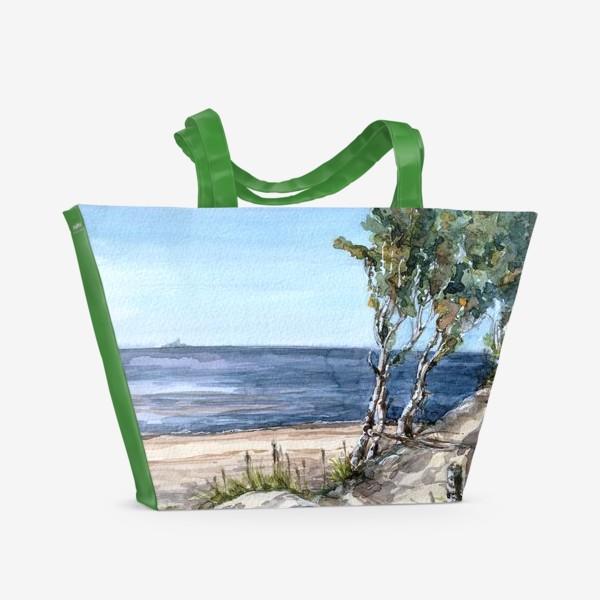 Пляжная сумка «Северный пляж»